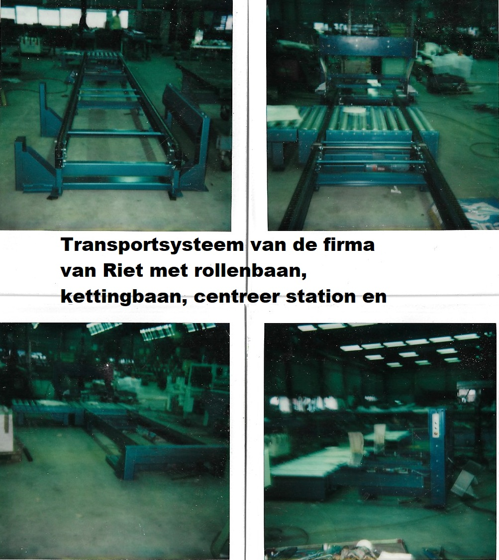 pallettransport-systeem