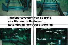pallettransport-systeem